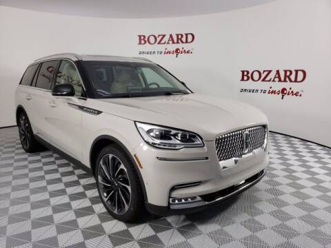 2020 Lincoln Aviator for sale at BOZARD FORD Lincoln in Saint Augustine FL