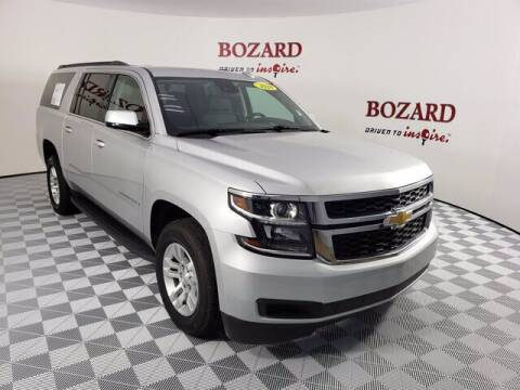 2020 Chevrolet Suburban for sale at BOZARD FORD Lincoln in Saint Augustine FL