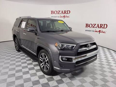 2016 Toyota 4Runner for sale at BOZARD FORD Lincoln in Saint Augustine FL