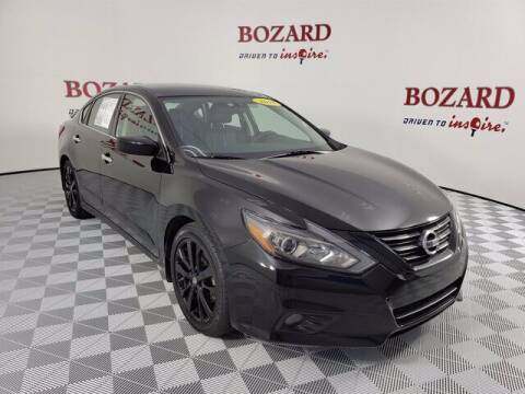2018 Nissan Altima for sale at BOZARD FORD Lincoln in Saint Augustine FL