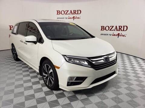 2018 Honda Odyssey for sale at BOZARD FORD Lincoln in Saint Augustine FL