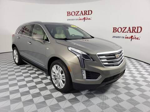 2018 Cadillac XT5 for sale at BOZARD FORD Lincoln in Saint Augustine FL