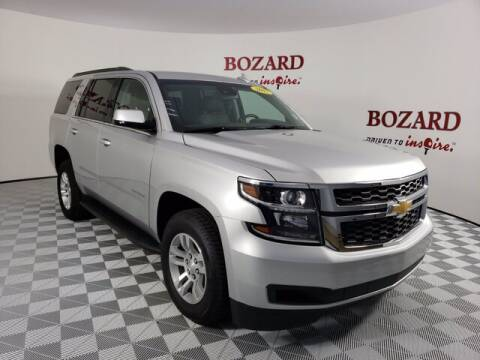 2017 Chevrolet Tahoe for sale at BOZARD FORD Lincoln in Saint Augustine FL