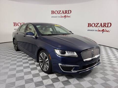 2017 Lincoln MKZ for sale at BOZARD FORD Lincoln in Saint Augustine FL