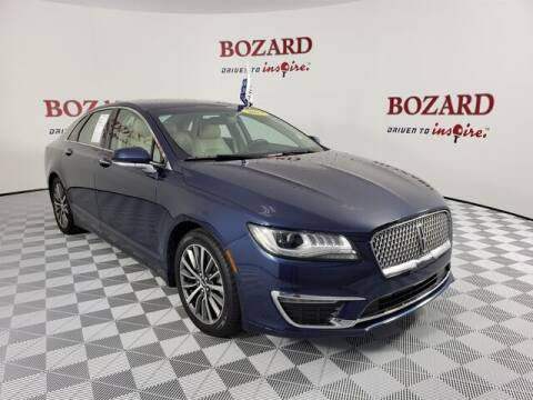 2017 Lincoln MKZ Hybrid for sale at BOZARD FORD Lincoln in Saint Augustine FL