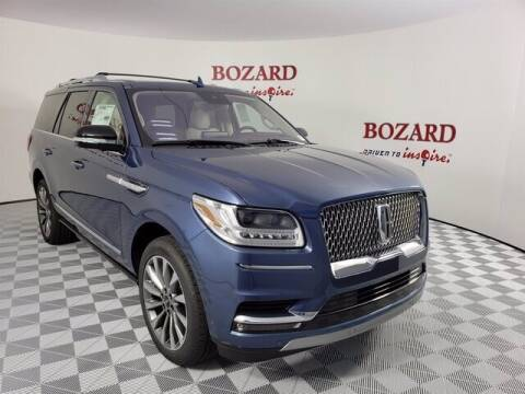 2020 Lincoln Navigator for sale at BOZARD FORD Lincoln in Saint Augustine FL