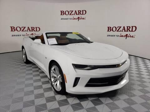 2016 Chevrolet Camaro for sale at BOZARD FORD Lincoln in Saint Augustine FL