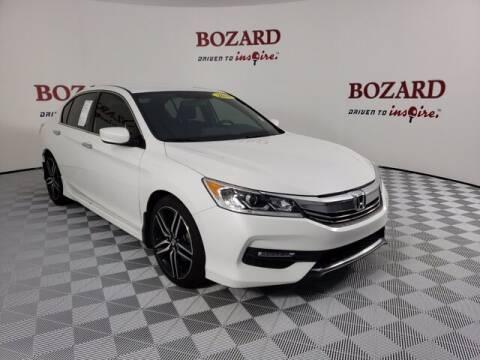 2016 Honda Accord for sale at BOZARD FORD Lincoln in Saint Augustine FL