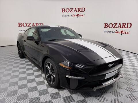 2020 Ford Mustang for sale at BOZARD FORD Lincoln in Saint Augustine FL