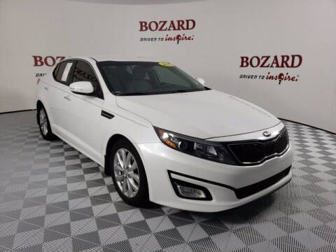 2015 Kia Optima for sale at BOZARD FORD Lincoln in Saint Augustine FL