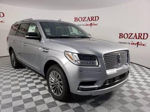2020 Lincoln Navigator for sale at BOZARD FORD Lincoln in Saint Augustine FL