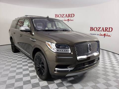 2020 Lincoln Navigator L for sale at BOZARD FORD Lincoln in Saint Augustine FL