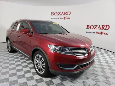 2016 Lincoln MKX for sale at BOZARD FORD Lincoln in Saint Augustine FL