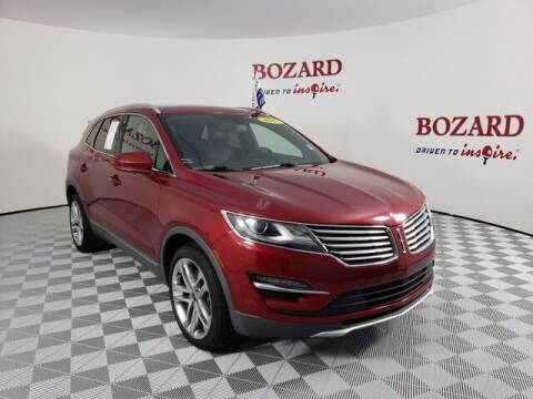 2017 Lincoln MKC for sale at BOZARD FORD Lincoln in Saint Augustine FL