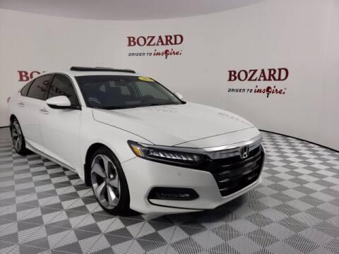 2018 Honda Accord for sale at BOZARD FORD Lincoln in Saint Augustine FL