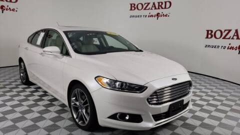 2016 Ford Fusion for sale at BOZARD FORD Lincoln in Saint Augustine FL