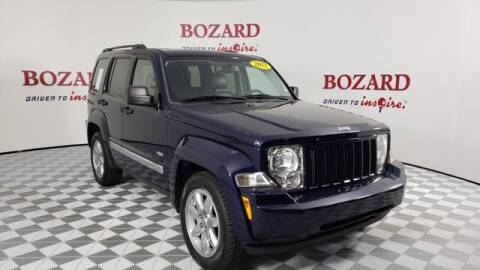 2012 Jeep Liberty for sale at BOZARD FORD Lincoln in Saint Augustine FL