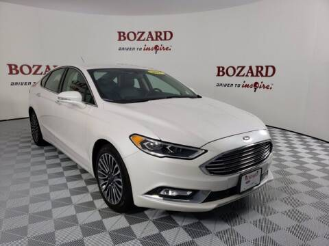 2017 Ford Fusion for sale at BOZARD FORD Lincoln in Saint Augustine FL