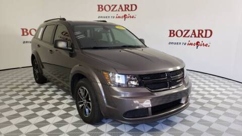 2018 Dodge Journey for sale at BOZARD FORD Lincoln in Saint Augustine FL
