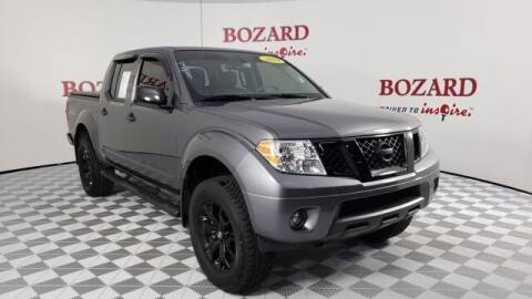 2019 Nissan Frontier for sale at BOZARD FORD Lincoln in Saint Augustine FL