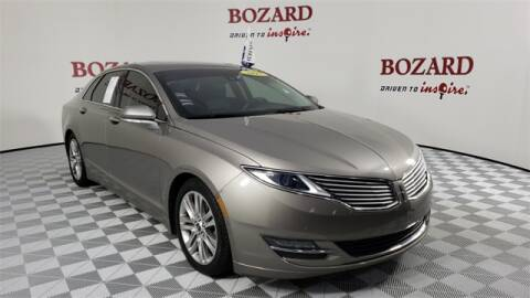 2015 Lincoln MKZ Hybrid for sale at BOZARD FORD Lincoln in Saint Augustine FL