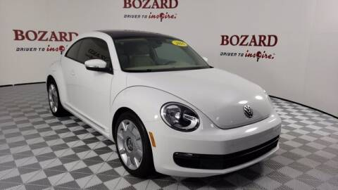2016 Volkswagen Beetle for sale at BOZARD FORD Lincoln in Saint Augustine FL