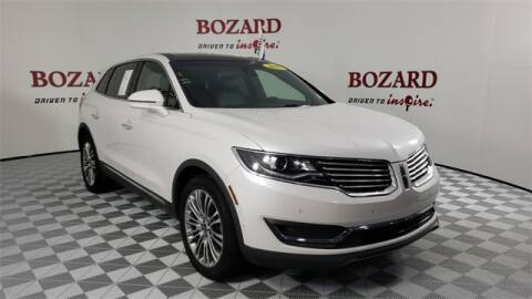 2018 Lincoln MKX for sale at BOZARD FORD Lincoln in Saint Augustine FL