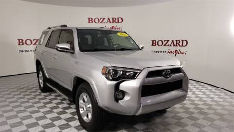 2019 Toyota 4Runner for sale at BOZARD FORD Lincoln in Saint Augustine FL