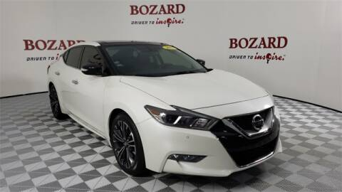 2017 Nissan Maxima for sale at BOZARD FORD Lincoln in Saint Augustine FL