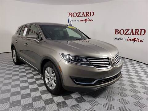 2017 Lincoln MKX for sale at BOZARD FORD Lincoln in Saint Augustine FL