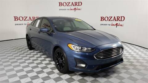 2019 Ford Fusion for sale at BOZARD FORD Lincoln in Saint Augustine FL