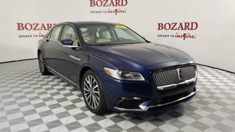 2017 Lincoln Continental for sale at BOZARD FORD Lincoln in Saint Augustine FL