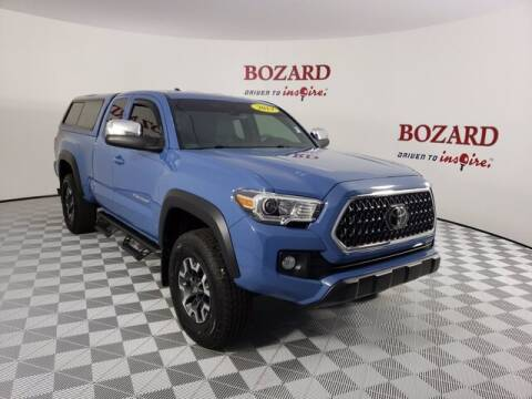 2019 Toyota Tacoma for sale at BOZARD FORD Lincoln in Saint Augustine FL