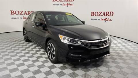 2017 Honda Accord for sale at BOZARD FORD Lincoln in Saint Augustine FL