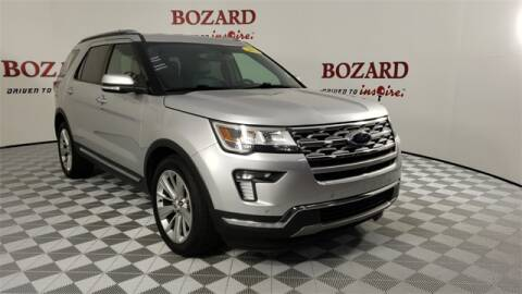 2019 Ford Explorer for sale at BOZARD FORD Lincoln in Saint Augustine FL