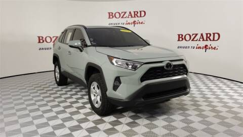 2019 Toyota RAV4 for sale at BOZARD FORD Lincoln in Saint Augustine FL
