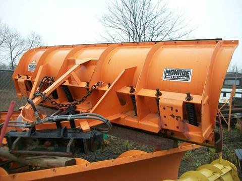 2002 MONROE SNOW PLOW for sale in Zimmerman, MN