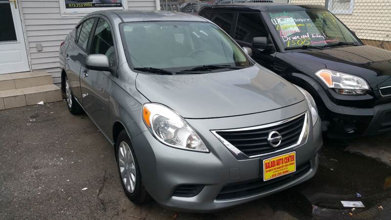 2013 Nissan Versa 1.6 SV 4dr Sedan   Garfield NJ