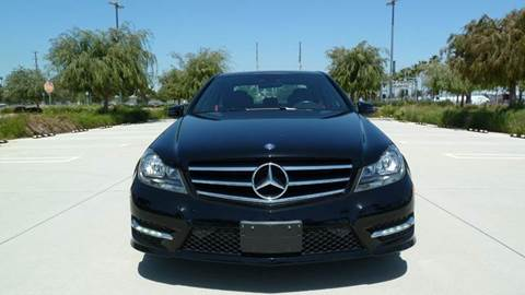 2014 Mercedes-Benz C-Class for sale at International Motors in San Pedro CA