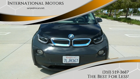 2014 BMW i3 for sale at International Motors in San Pedro CA