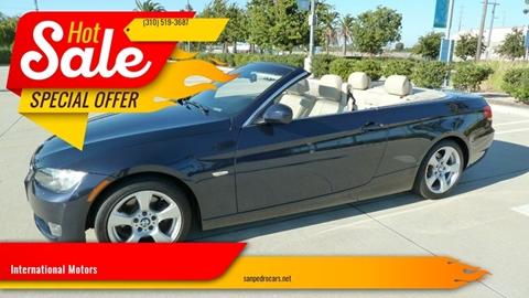 2010 BMW 3 Series for sale at International Motors in San Pedro CA