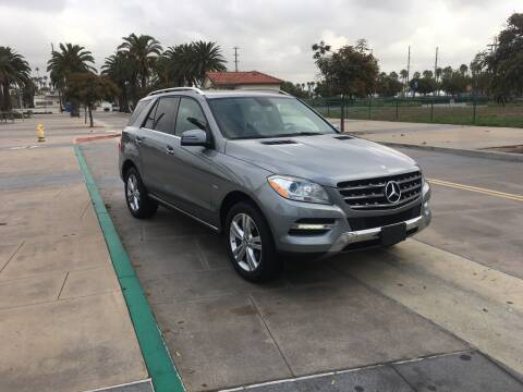 2012 Mercedes-Benz M-Class for sale at International Motors in San Pedro CA