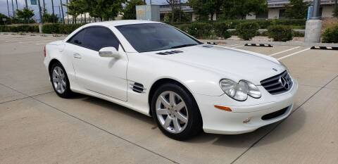2003 Mercedes-Benz SL-Class for sale at International Motors in San Pedro CA