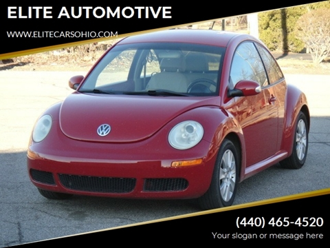 2010 Volkswagen New Beetle for sale in Euclid, OH