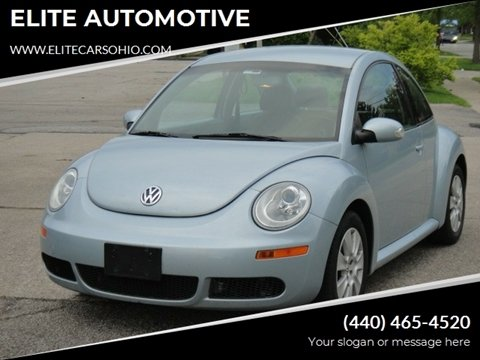 2009 Volkswagen New Beetle for sale in Euclid, OH