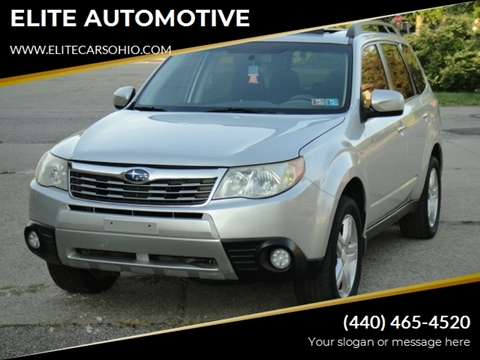 2010 Subaru Forester for sale in Euclid, OH