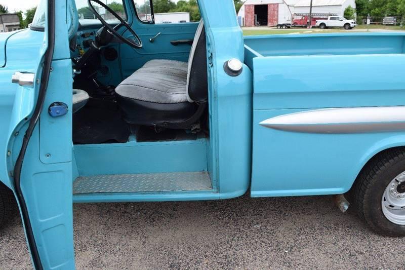 1958 Chevrolet Apache 3100 - Pilot Point TX