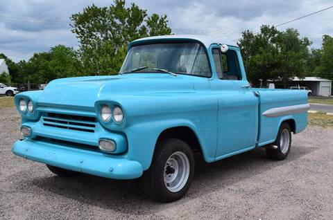 1958 Chevrolet Apache for sale at Pat's Auto Sales in Pilot Point TX