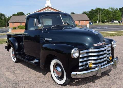 1952 Chevrolet 3100 for sale at Pat's Auto Sales in Pilot Point TX