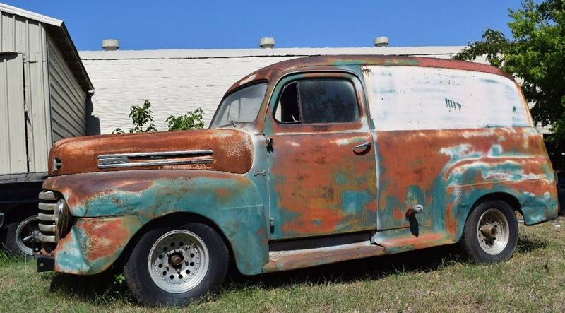 1950 Ford Panel Truck for sale at Pat's Auto Sales in Pilot Point TX